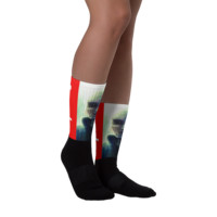 Supremely Supreme Leader Sublimated Socks