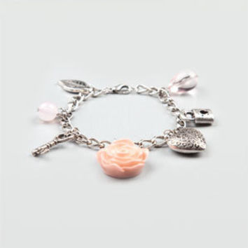 FULL TILT Epoxy Rose Charm Bracelet 191927140 | Accessories | Tillys.com