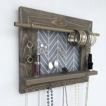 Shop Hanging Jewelry Storage Organizer on Wanelo
