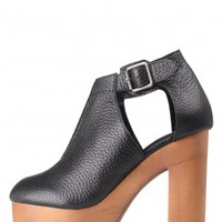 Jeffrey Campbell Shoes VALENCIA-2 Platforms in Black