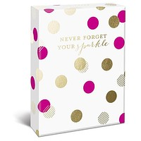 Never Forget Your Sparkle Blank Greeting Cards and Envelopes
