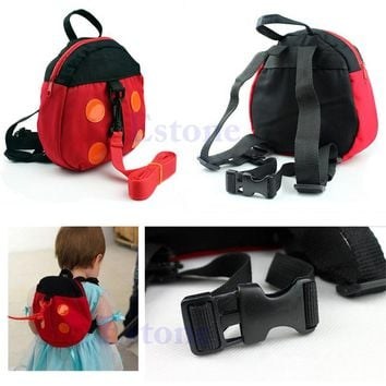 Baby Kids Keeper Assistant Toddler Walking Wings Safety Harness Backpack Bag Strap Harnesses Anti-Lost Strap