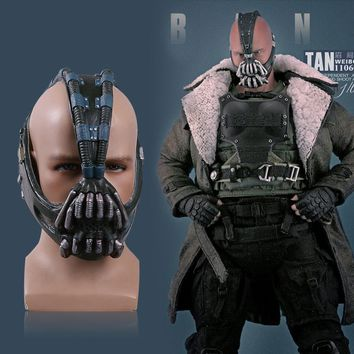 Cos Bane Masks Batman Movie Cosplay Props The Dark Knight