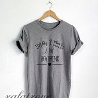 Dylan Obrien Shirt Dylan O'brien Is My Boyfriend Tshirt Unisex Size - RT127