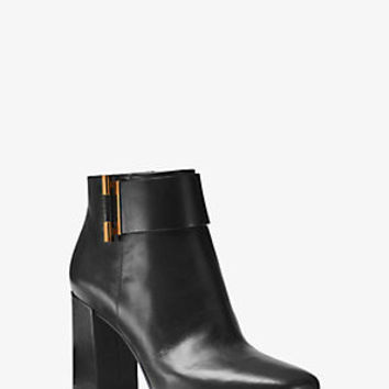 Gloria Leather Ankle Boot | Michael Kors