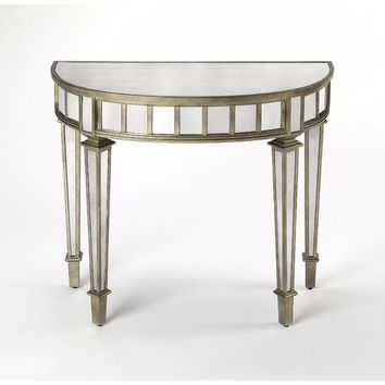 3637146 Demilune Console Table by Butler Specialty