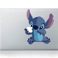 Stitch -- Mac Decal Mac Sticker Macbook Decals Macbook Stickers  Apple Vinyl Decal for Macbook Pro / Macbook Air / iPad