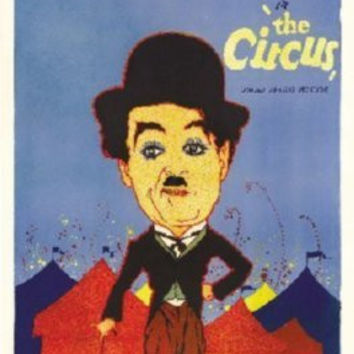 Circus Charlie Chaplin Poster 24inx36in