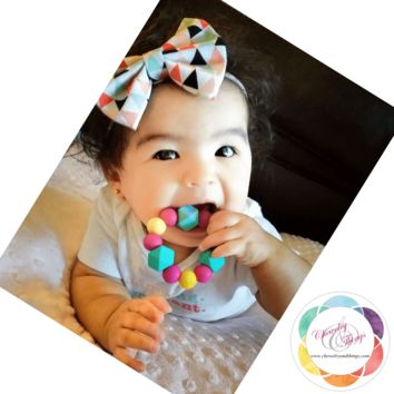 Vanellope Teething Ring / Bracelet