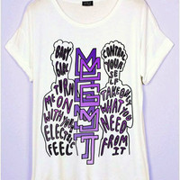 MGMT Lyrics T-Shirt