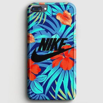 Nike Floral iPhone 8 Plus Case | casescraft