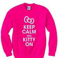 Keep Calm and Kitty On