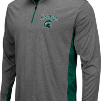 Men's Stadium Michigan State Spartans College Ridge 1/4-zip Shirt | Finish Line