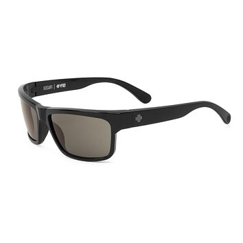 Spy - Frazier Black Sunglasses, Happy Grey Green Lenses