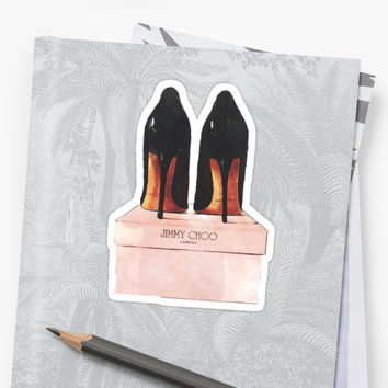 'Jimmy Choo Shoes' Sticker by cherlynvdalm