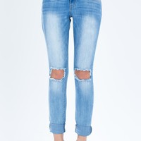 Joan Light Wash Boyfriend Jean