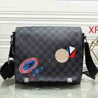 LV Louis Vuitton Woman Men Fashion Leather Crossbody Shoulder Bag Satchel