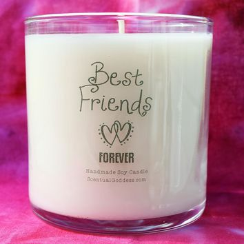 Best Friends Forever Candle - BFF, Best Friend Gift, Friends for Life