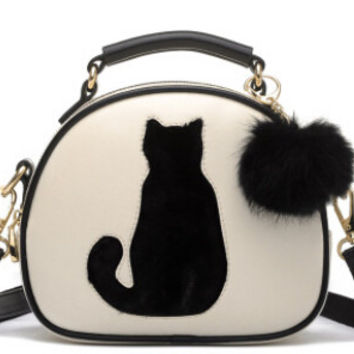 Cat Lady Crossbody Purse
