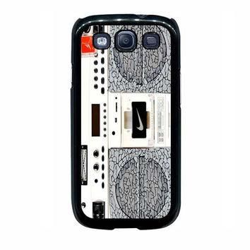 nike air jordan radio boombox samsung galaxy s3 s4 s5 s6 edge cases