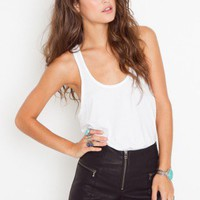 Easy Rider Zip Shorts - NASTY GAL