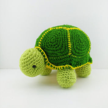Orion Crochet Turtle Amigurumi - Handmade Crochet Amigurumi Toy Doll - Turtle Crochet - Amigurumi Turtle - Tropical Animal