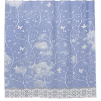 Shower Curtain, clouds Shower Curtain