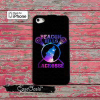 Beacon Hills Lacrosse Logo Galaxy Space Teen Wolf Inspired iPhone 4/4s Case and iPhone 5/5s/5c Case and Wallet Case and iPhone 6 and 6 Plus
