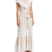 Miguelina Thalia Cotton Embroidered Dress