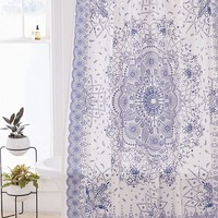 Emilia Medallion Shower Curtain | Urban Outfitters