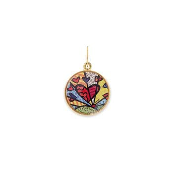 A New Day Art Infusion Necklace Charm
