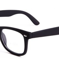 Sophia Eyeglasses with Black Acetate Aviator Full Frame/Rim Frame