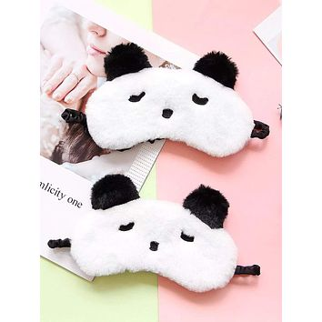 1pc Panda Shaped Eye Cover