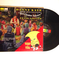 OCTOBER SALE LP Album Danny Kaye Sings Hans Christian Andersen and Tubby The Tuna Vinyl Record 1957
