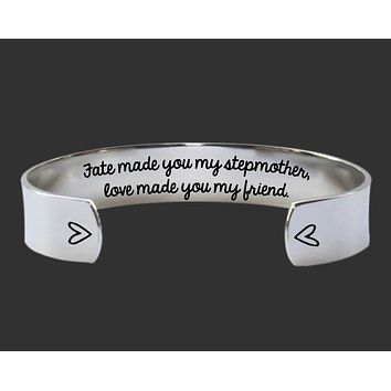 Fate Made You My Stepmother Bracelet | StepMother Gift
