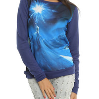 Disney Frozen Elsa Girls Pullover Top