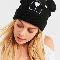 Animal Face Beanie | Urban Outfitters