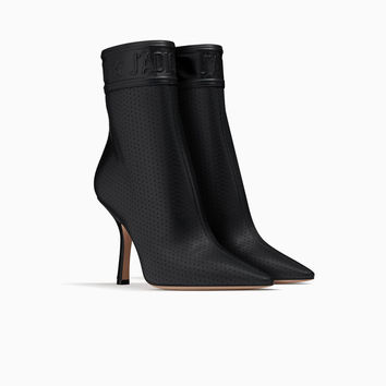 Ankle boot in black lambskin leather - Dior