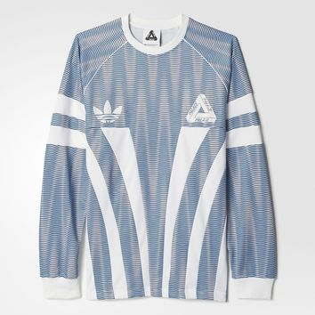 adidas Graphic Goalie Tee - Blue | adidas US