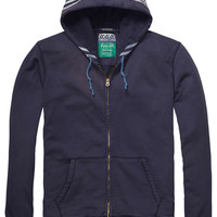 zip-through hooded sweater - Scotch & Soda