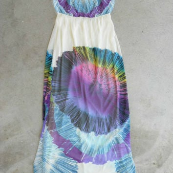 Ink Blot Maxi Dress