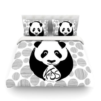 "KESS Original ""Panda"" Cotton Duvet"
