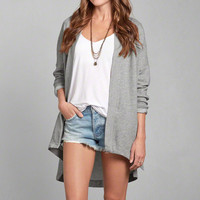 Drapey Fleece Cardigan