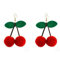 Craft Queen Cherry Earrings