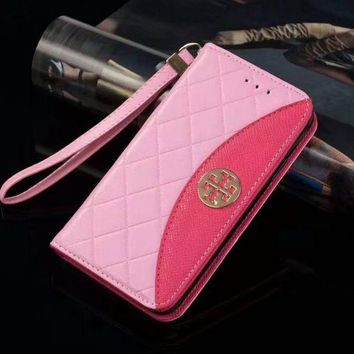 Kalete Tory Burch Fashion iPhone Samsung Phone Cover Case For iphone 6 6s 6plus 6s-plus 7 7plus 8 8plus