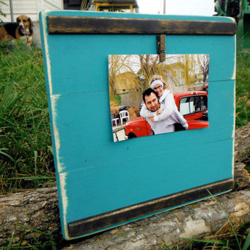 Large Rustic Photo Frame - 5X7