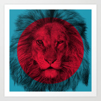 Wild 5 by Eric Fan & Garima Dhawan Art Print by Garima Dhawan