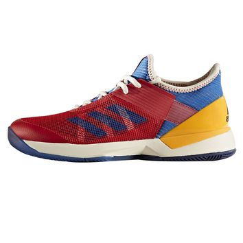 Adidas Adizero Ubersonic 3 PW Women's Tennis Shoe Red/Blue/Gold