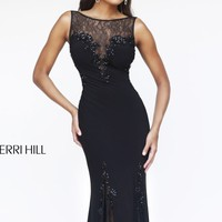 Open Back Gown by Sherri Hill