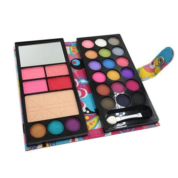 Lovely Cute 6in1 Professional cosmetic makeup set palette Nude Matte shimmer eye shadow